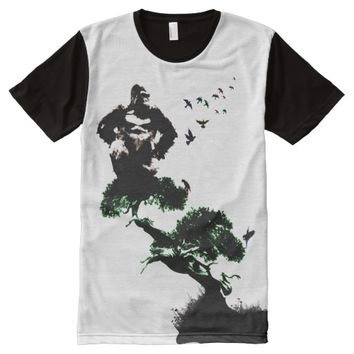 KING KONG IN THE JUNGLE All-Over-Print T-Shirt