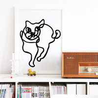 SNUG.LOVES CATS  poster