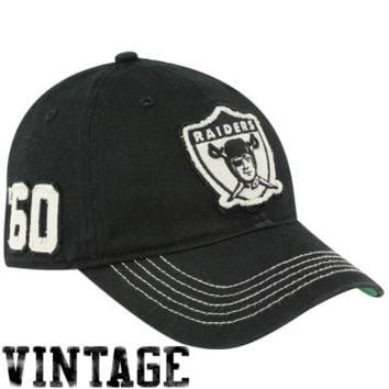 47 Brand Oakland Raiders Badger Closer Flex Hat - Black