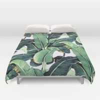 Martinique Print Duvet Cover by Bnjohnson3