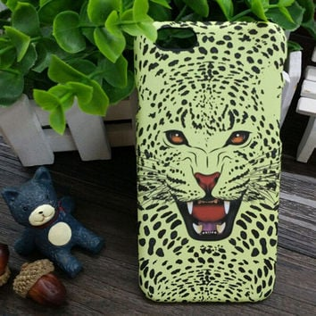3D So Cool Luminous Leopard Case Cover for iPhone 5s 6 6s Plus Gift 3
