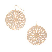 Filigree Drop Earrings | Forever 21 - 1000186573