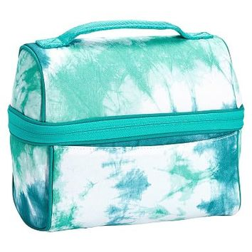 Gear-Up Ceramic Pool Tie-Dye Retro Lunch Bag