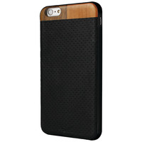 "STRONG N FREE SNFNIOIP6BK iPhone(R) 6 4.7""""/6s Nio Perforated Leather Case"