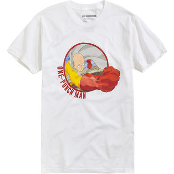 One Punch Man Saitama Circle T-Shirt