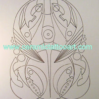 Coloring for Balance: 7-31-2015 Neo Tribal Coloring Design FREE!