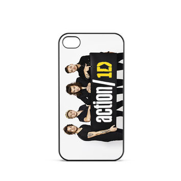 One Direction Action iPhone 4 / 4s Case