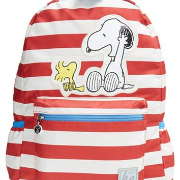 Boy's Hanna Andersson 'Peanuts - Snoopy & Woodstock' Backpack - Red