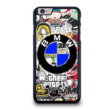 BMW STICKER BOMB iPhone 6 / 6S Plus Case Cover