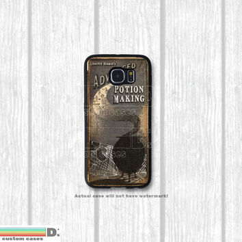 Harry Potter Inspired Advanced Potion Making and other Text Books, Custom Phone Case for Galaxy S4, S5, S6