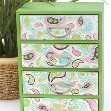 Jewelry Box Paisley by StrictlyCute on Etsy