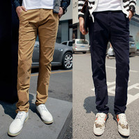 Street Style Fashion Men Slim Fit Pants