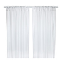 "TERESIA Sheer curtains, 1 pair, white - 57x98 "" - IKEA"