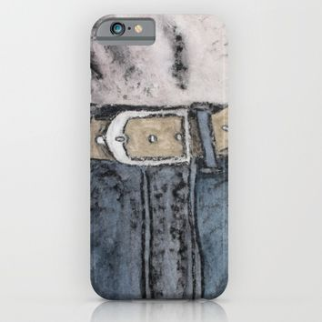 Trousers iPhone & iPod Case by Josep Mestres