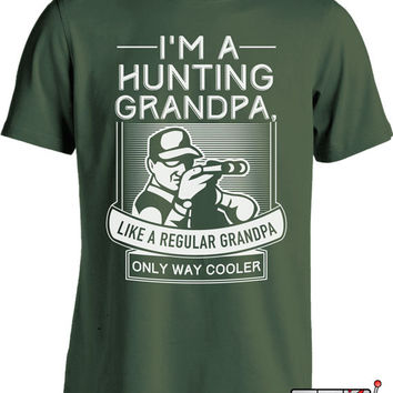 Funny Hunting Shirt Gifts for Grandpa Father's Day Gift Grandfather Shirt Cool Grandpa Shirt Men's Tee MD-423