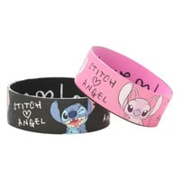 Disney Lilo Stitch Love Rubber Bracelet 2 Pack