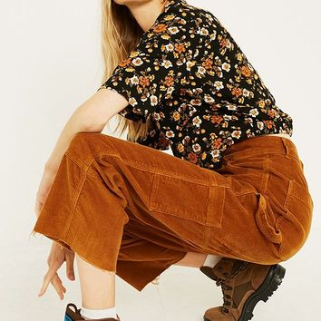 BDG Camel Corduroy Carpenter Trousers | Urban Outfitters