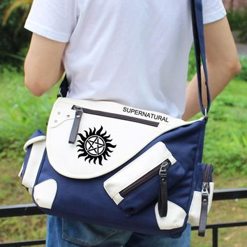 Supernatural  Shoulder bag Backpack  Messenger Bags Rucksack Gym