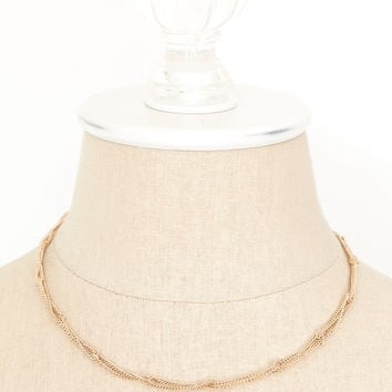 70's__Sarah Coventry__Twisted Chain Necklace