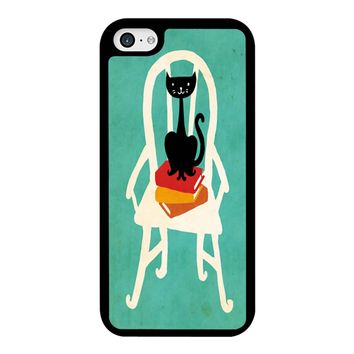 Still Life With Cat Sitting On Chair iPhone 5C Case