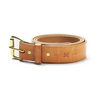 The Gfeller Leather Belt