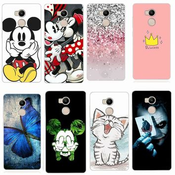 Case For Xiaomi Redmi 4X Case Phone Case For Xiaomi Redmi 4X 4 Pro 4A Soft TPU Cute Minnie Cases Back Cover For Xiaomi 5X mi a1