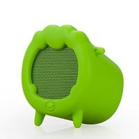 SOLEMEMO Sheep Pattern Detachable Mini Portable Stereo Wireless Bluetooth Speaker with Microphone(Green)