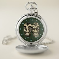 Mayan Warriors - Best Friends Forever Pocket Watch