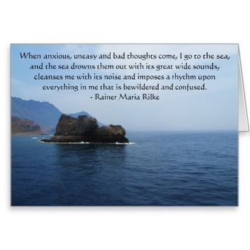 Spiritual poetry and Inspirational prose Greeting Card