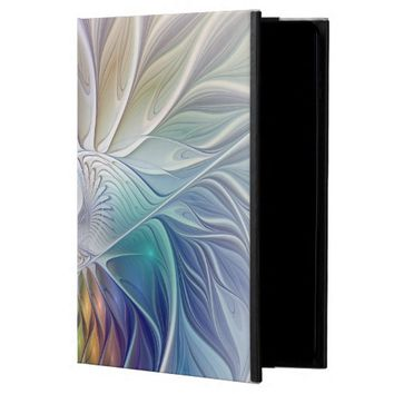 Floral Fantasy, abstract and modern Fractal Art Powis iPad Air 2 Case