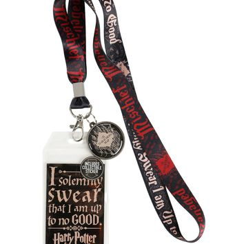 Licensed cool Harry Potter Solemnly Swear I Am Up To No Good Marauders Map Neckstrap Lanyard