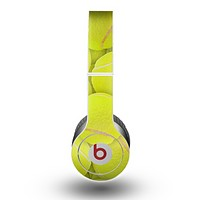 The Tennis Ball Overlay Skin for the Beats by Dre Original Solo-Solo HD Headphones