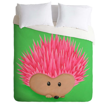 Mandy Hazell Ollie Hedgehog Duvet Cover