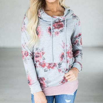 Fashion New Hoodie T-shirt Womens Floral Printing Loose Sweat shirt Cotton unicorn Hooded Pullover Tops Blusas