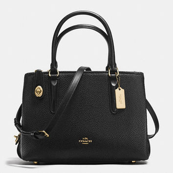 Brooklyn Carryall 28 in Pebble Leather