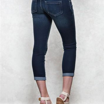 Harlow Premium Ankle Jean Crops
