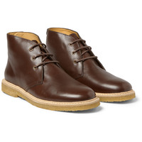 A.P.C. Leather Desert Boots | MR PORTER