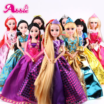 Abbie Doll 10 Different Models to Chose Cinderella Rapunzel Mermaid Snow White Beauty