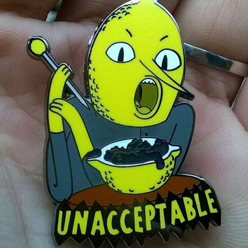 Bad Earl of LEMONGRAB Dab HASH Hat Pin