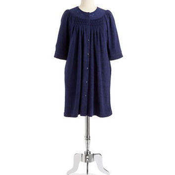 Miss Elaine Embroidered Robe