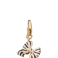 Kate Spade Bow Charm Navy Multi ONE