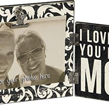 Floral Trimmed Hinged Frame I Love That You're My Mom