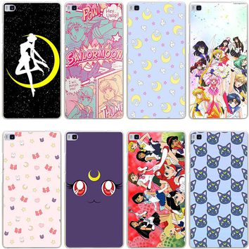Sailor Moon Hard Case for Huawei P10 Phones
