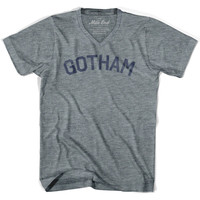 Gotham City Vintage V-neck T-shirt