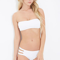 Textured Strappy Bandeau