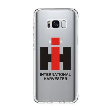 IH INTERNATIONAL HARVESTER Samsung Galaxy S4 S5 S6 S7 Edge Clear Case