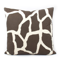 Club Safari Throw Pillow