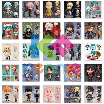 Cool Attack on Titan Kawaii Nendoroid Anime FATE super hero Miku Pocket Monster Collection SAKURA   Nitroplus ROCK SHOOTER Figure Toys AT_90_11