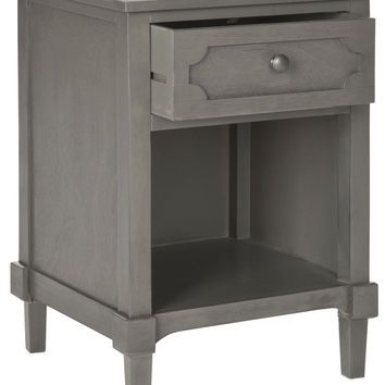Rosaleen Storage Side Table Grey