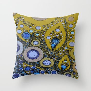 :: Bandana :: Throw Pillow by :: GaleStorm Artworks ::